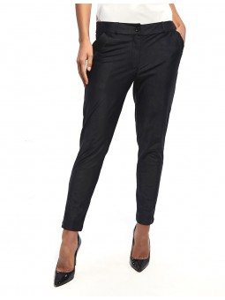 CHRISTINA | Pantalon City Uni Noir
