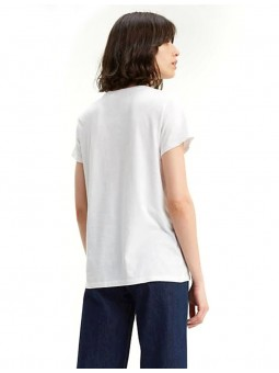Perfect Graphic T-Shirt Logo batwing rouge Femme Levi's