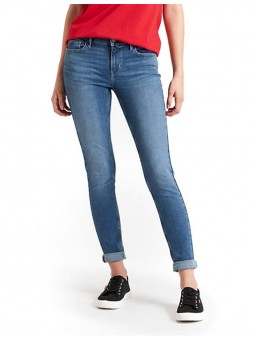 710 Super Skinny Word jean...