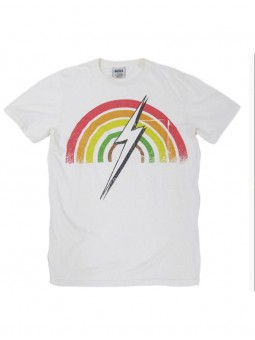 T-Shirt Print Arc-En-Ciel Bolt