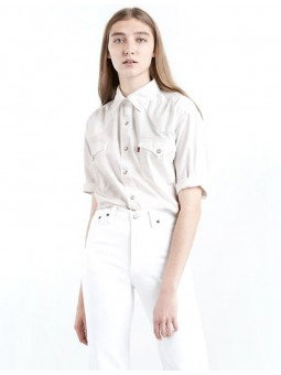 Chemise crop-top blanche Levi's