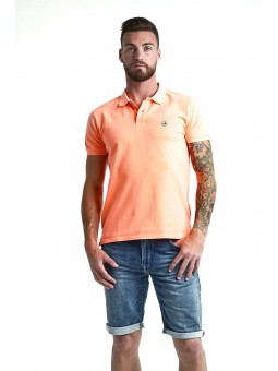 Polo Cherbourg Orange Fluo...