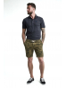 Short en coton-lin Kaki - Scotch & Soda