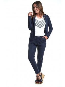 Pantalon CHRISTINA City Uni Marine