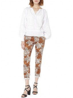 Chino Print Animal Fleur Please