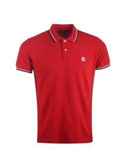 Polo homme Palavas Rouge...