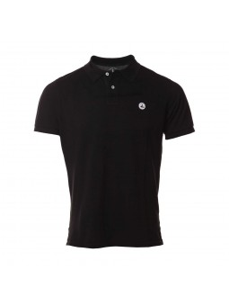 Polo homme Cherbourg Noir -...