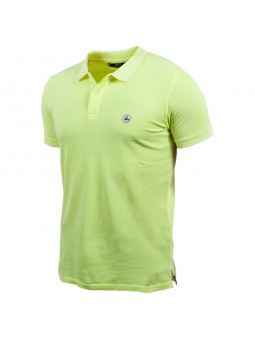 Polo homme Cherbourg Jaune...