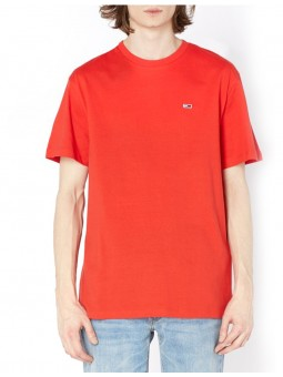 T-Shirt Rouge Basic Tommy Hilfiger