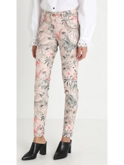 Pantalon Shine Flower Rose - Mos Mosh