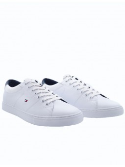 Baskets Essential Cuir Blanc - Tommy Hilfiger