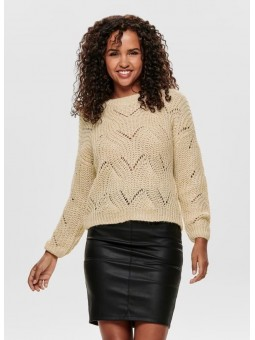 Pull en maille Col Rond - Only