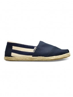 Espadrilles Canvas Ray Arrière Marine - Tom's