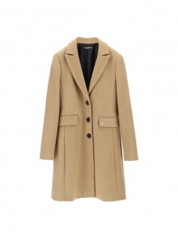 Manteau Droit Beige - Please