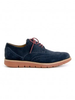 Echo Brogue Navy Schmoove