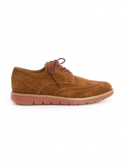 Echo Brogue Cognac Schmoove