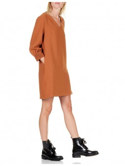 Robe Col V Ouvert Dos See U Soon