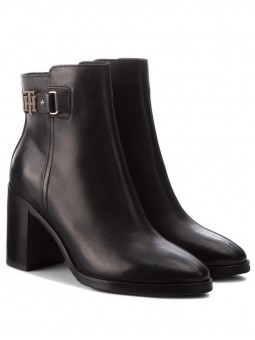 Boots Talon Sangle Noir Tommy Hilfiger