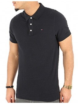 Basics Noir Polo Tommy...