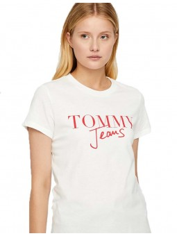 Signature Tommy Jeans T-shirt MC Tommy Hilfiger