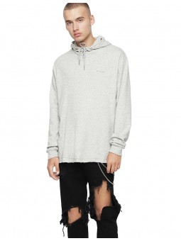 Hood-Row Sweater Capuche...